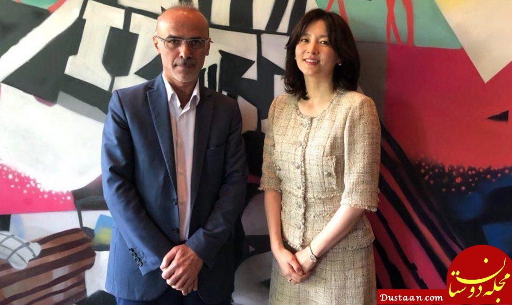 www.dustaan.com آخرین خبر از حضور بازیگر زن کره ای در فیلم ایرانی! +عکس