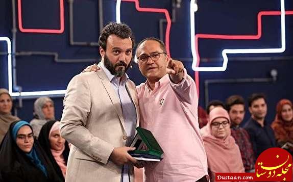 www.dustaan.com کری خوانی کامبیز دیرباز در «خندوانه»! +عکس