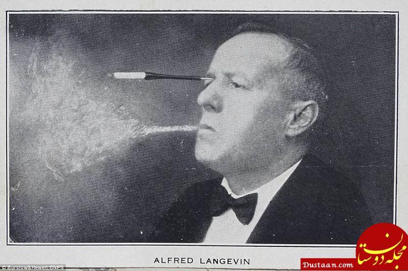 www.dustaan.com سیگار کشیدن عجیب یک مرد! +عکس