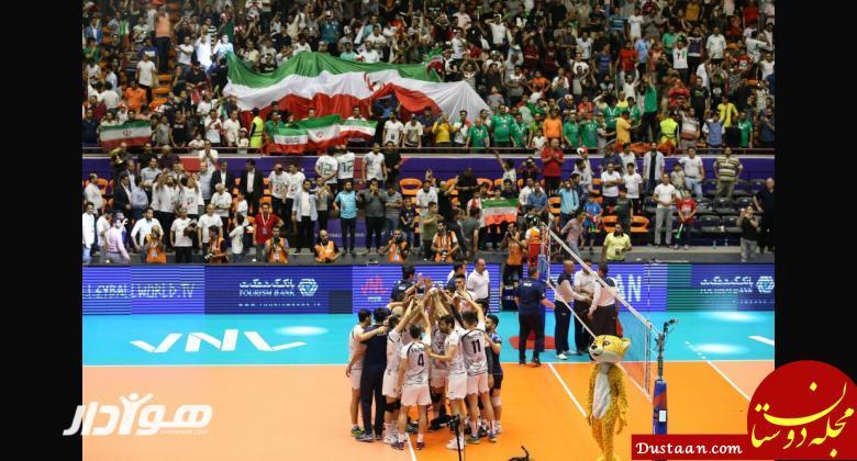 www.dustaan.com لیگ ملت های والیبال؛ ایران ۳ ۱ بلغارستان؛ پیروزی بی دردسر