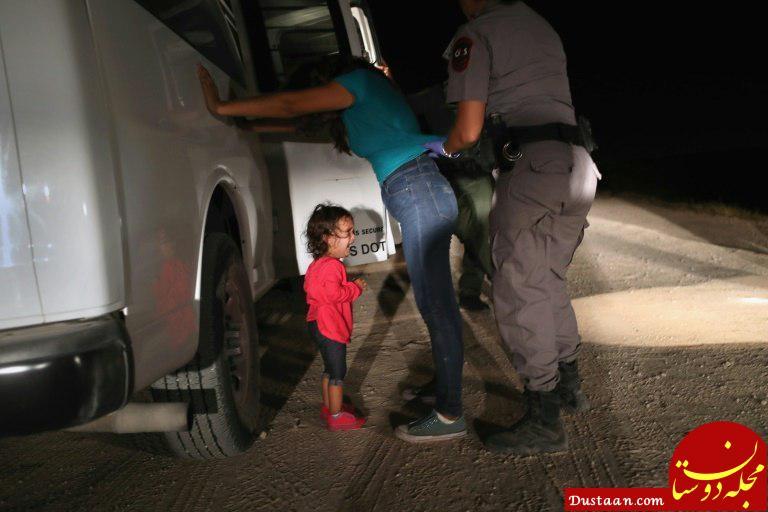 www.dustaan.com مادر و فرزند مهاجری که تصویرشان در دنیا معروف شد +عکس
