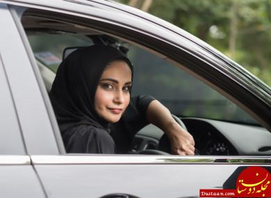 www.dustaan.com زنان سعودی برای نخستین بار اجازه پیدا کردند رانندگی کنند!