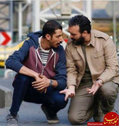 www.dustaan.com وقتی کامبیز دیرباز و بهرام افشاری شاخ به شاخ می شوند! +عکس