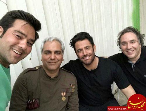 www.dustaan.com عکس های جدید مهران مدیری و محمدرضا گلزار