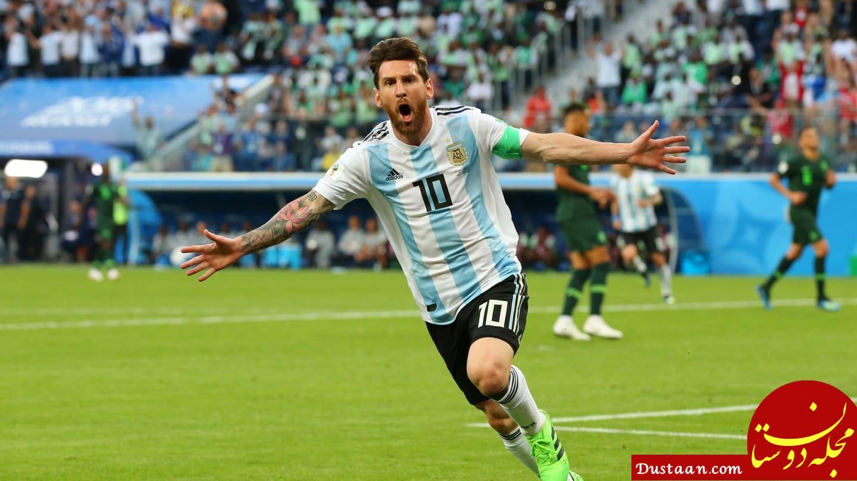 www.dustaan.com آرژانتین در آخرین دقایق صعود کرد/ برتری کرواسی مقابل ایسلند