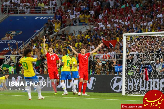 www.dustaan.com برزیل 2   0 صربستان / صعود راحت سلسائو با برتری دو گله مقابل صرب ها