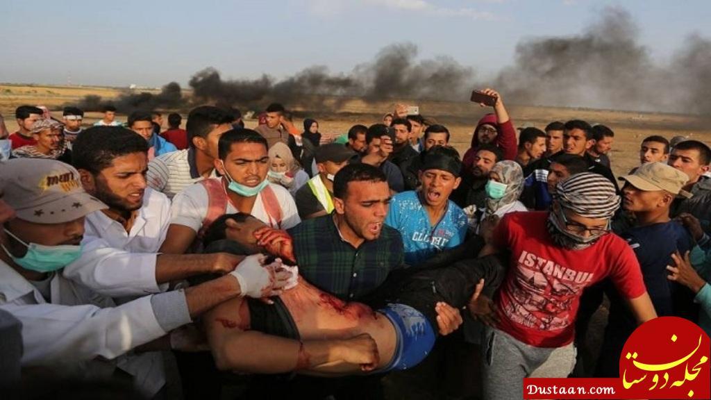 www.dustaan.com دو فلسطینی در غزه به شهادت رسیدند