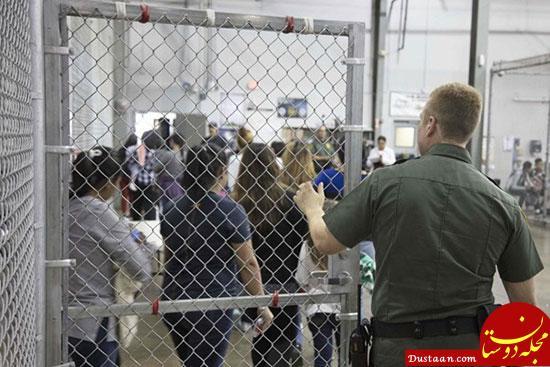 www.dustaan.com تصمیم آمریکا برای بازداشت کودکان مهاجران با والدینشان