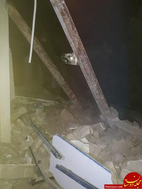 تخریب منزل مسکونی پس از انفجار مهیب +تصاویر