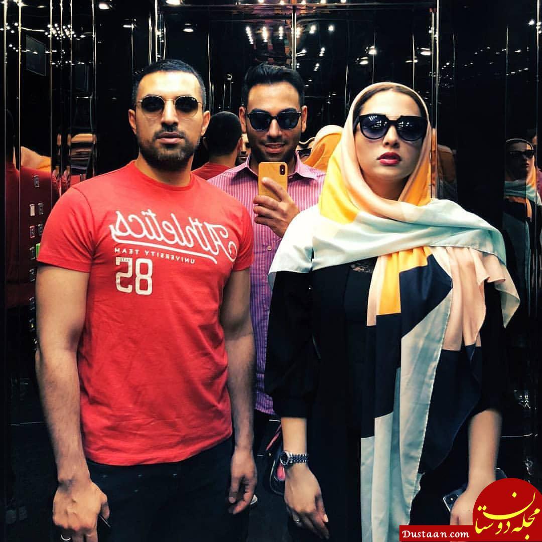 www.dustaan.com تصویری متفاوت از اشکان خطیبی و همسرش آناهیتا درگاهی