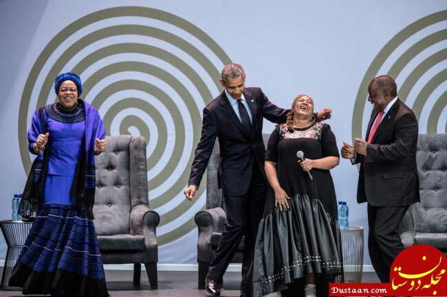 www.dustaan.com رقص اوباما در یک مراسم خاص! +عکس