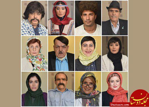 www.dustaan.com گریم های متفاوت بازیگران در «آپاچی» از سحر قریشی تا حمید لولایی