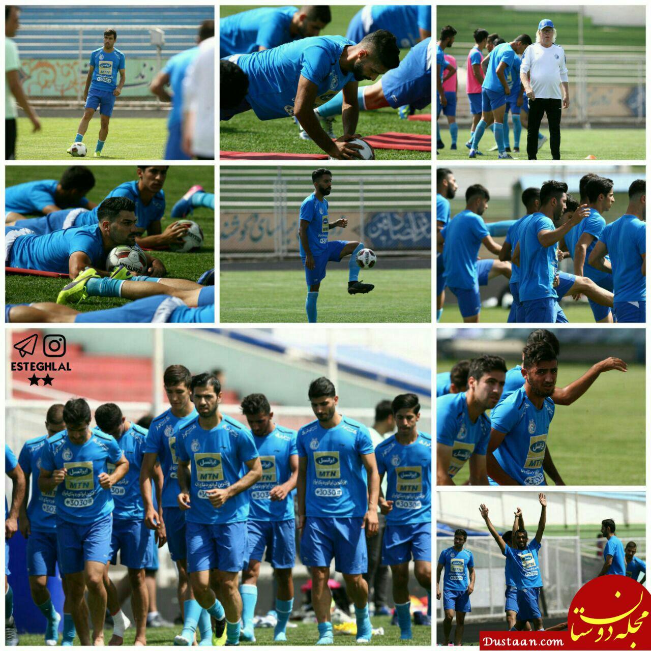 www.dustaan.com دلیل غیبت کریمی در تمرین امروز استقلال مشخص شد +عکس