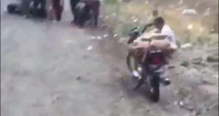 ماجرای سر خوردن موتورسیکلت ها در جاده چالوس چیست؟