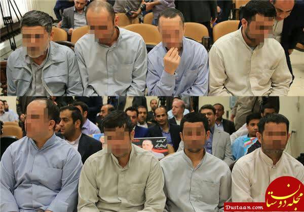 www.dustaan.com اعضای گروه داعش که به مجلس حمله کرده بودند اعدام شدند