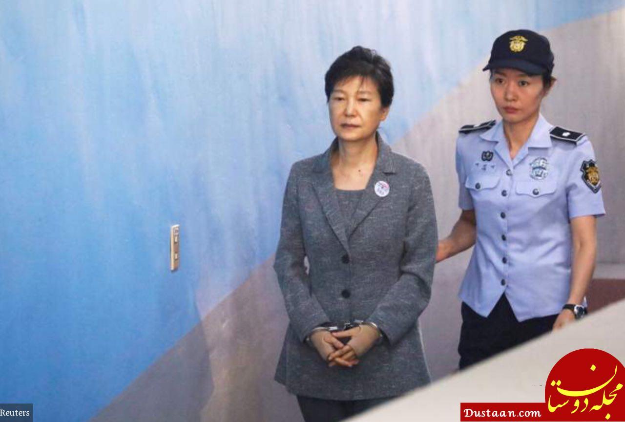 www.dustaan.com حکم زندان رئیس جمهور کره جنوبی از ۲۴ سال به ۳۲ سال رسید