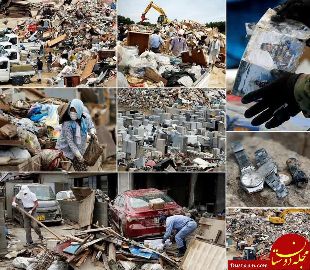 www.dustaan.com اوضاع ژاپن 10 روز پس از سیل مرگبار! +تصاویر