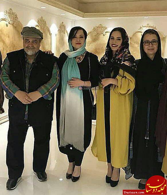 www.dustaan.com مهراوه و ملیکا در کنار محمدرضا شریفی نیا و آزیتا حاجیان +عکس