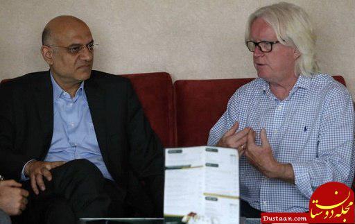 www.dustaan.com توضیحات باشگاه استقلال در رابطه با دیدار فتحی با وینفرد شفر +عکس