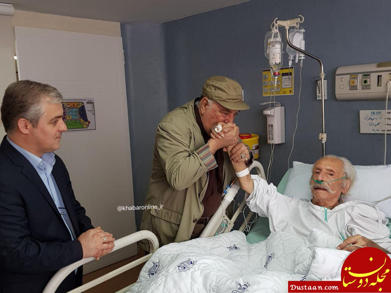 www.dustaan.com بوسه داریوش ارجمند بردستان جمشید مشایخی +عکس