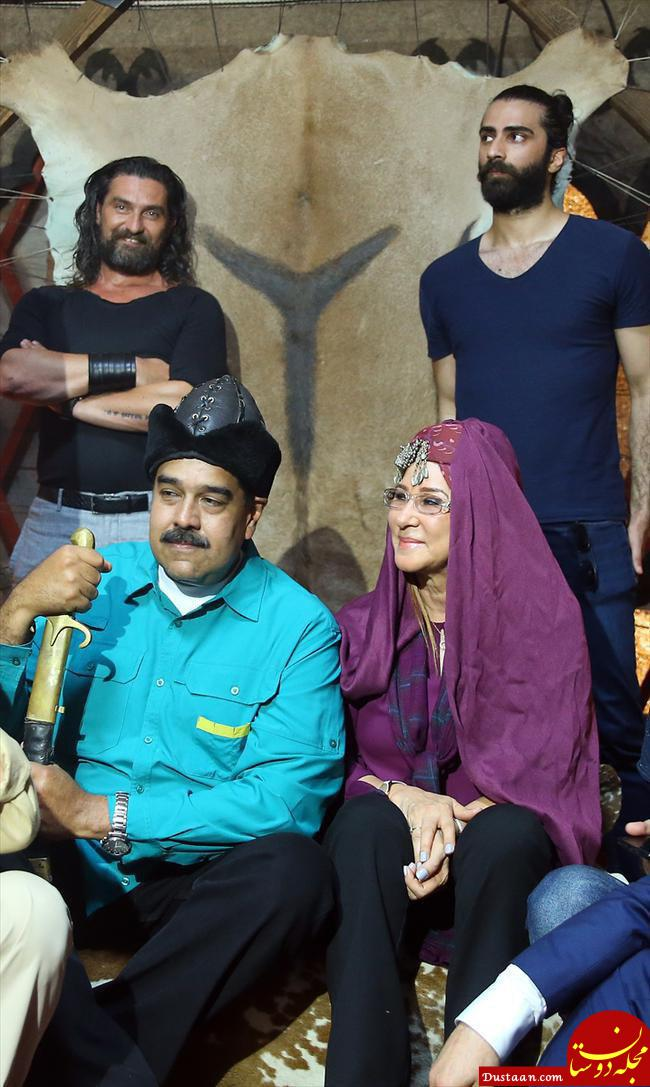 www.dustaan.com نیکولاس مادورو در پشت صحنه یک سریال تاریخی پرمخاطب در ترکیه! +عکس