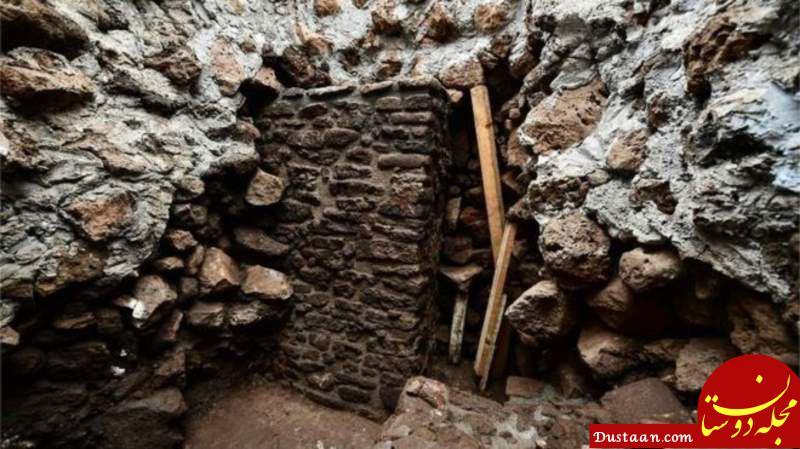 www.dustaan.com کشف معبد باستانی پس از زلزله مکزیک +عکس