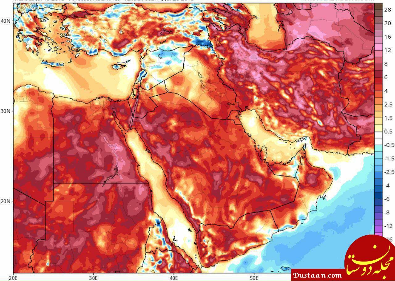www.dustaan.com موج جدید گرما در راه کشور
