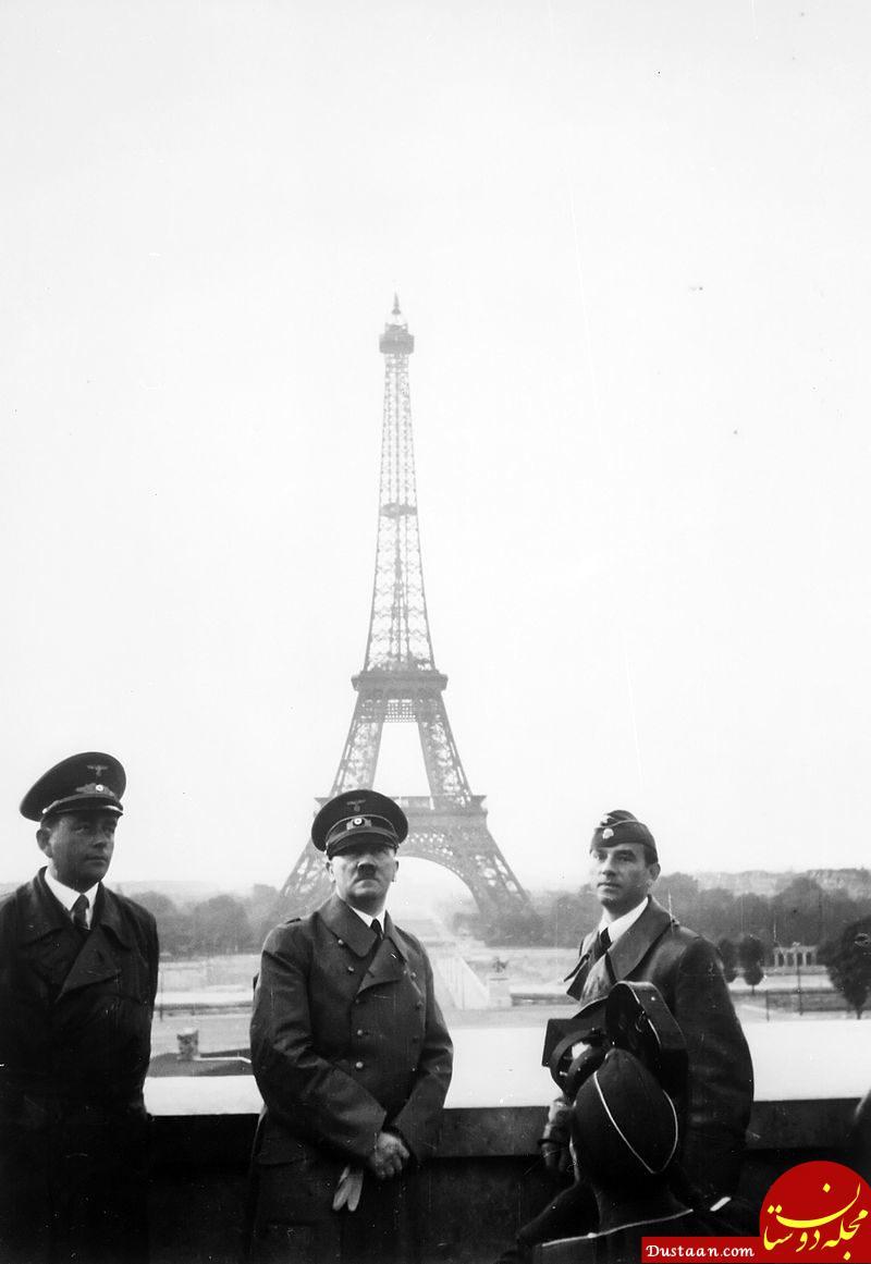 www.dustaan.com بازدید هیتلر از پاریس +عکس