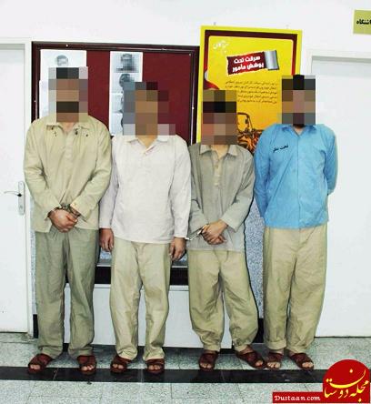 www.dustaan.com سارقین مسلح درپوشش پلیس به دام افتادند +عکس