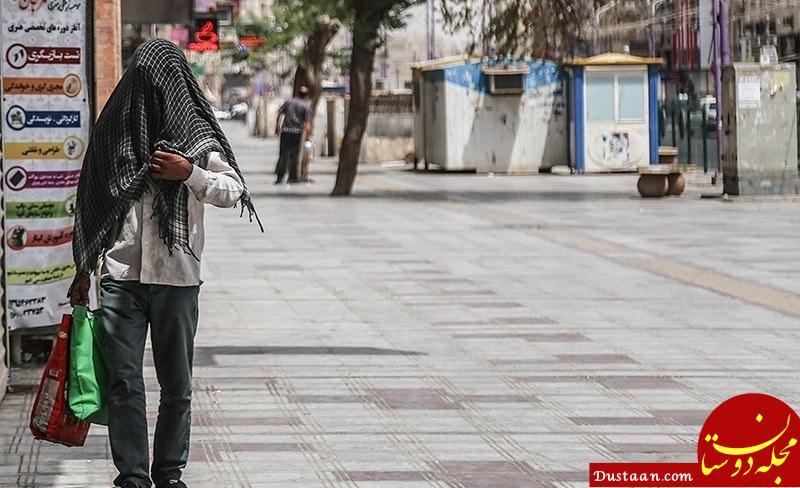 www.dustaan.com دمای 7 شهر خوزستان به بالای ۵۰ درجه رسید