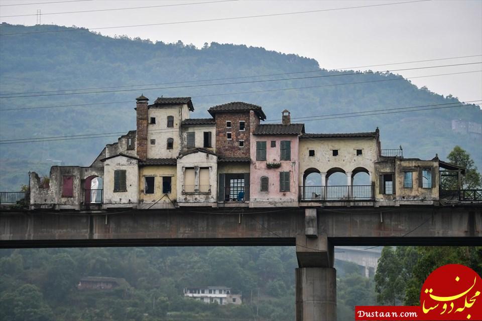 www.dustaan.com عجیب ترین پل جهان در چین +تصاویر
