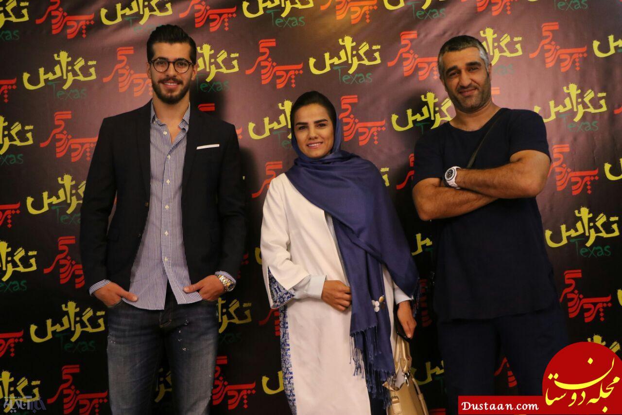 www.dustaan.com تصویر مهمانان ویژه پژمان جمشیدی در سینما!