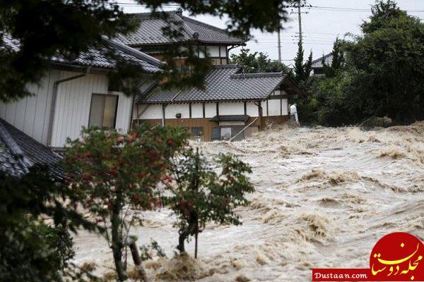 www.dustaan.com آمار کشته شدگان سیل ژاپن از 70 نفر گذشت