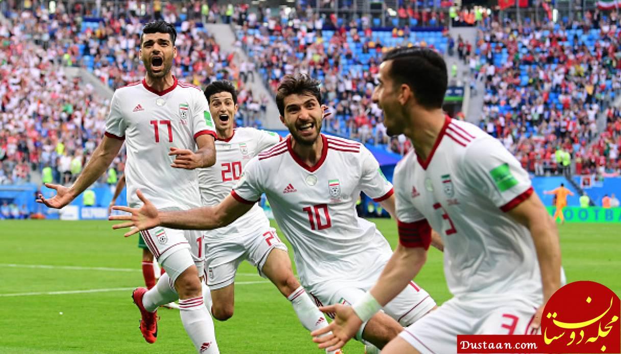 www.dustaan.com جهش در رنکینگ اصلاح شده فیفا / ایران در رده بیستم جهان جای گرفت