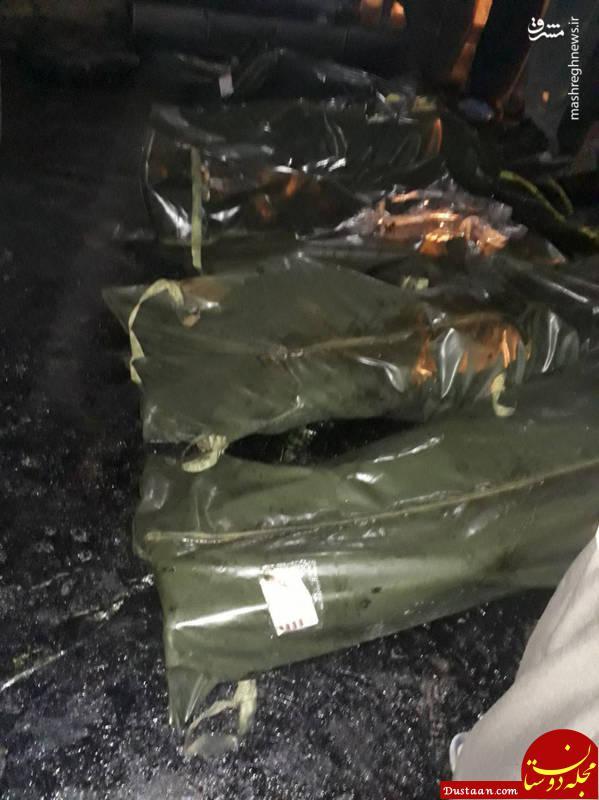 www.dustaan.com اجساد سرنشینان حادثه اتوبوس سنندج +عکس