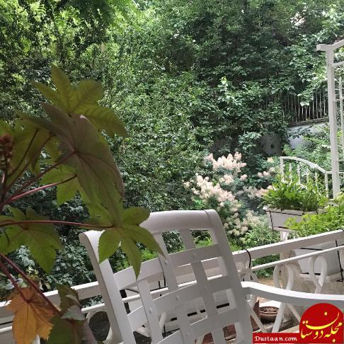www.dustaan.com خانه لوکس نیکی کریمی در زعفرانیه +عکس