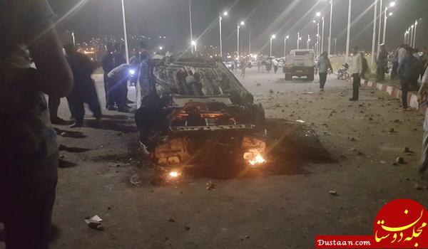 www.dustaan.com توضیح مدیرکل امنیتی کردستان درباره حاشیه های تصادف در سنندج و درگیری مردم با نیروی انتظامی