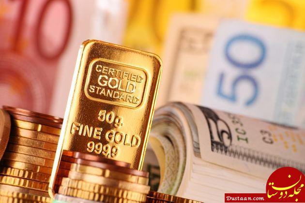 www.dustaan.com ادامه روند کاهشی قیمت طلا و ارز در بازار