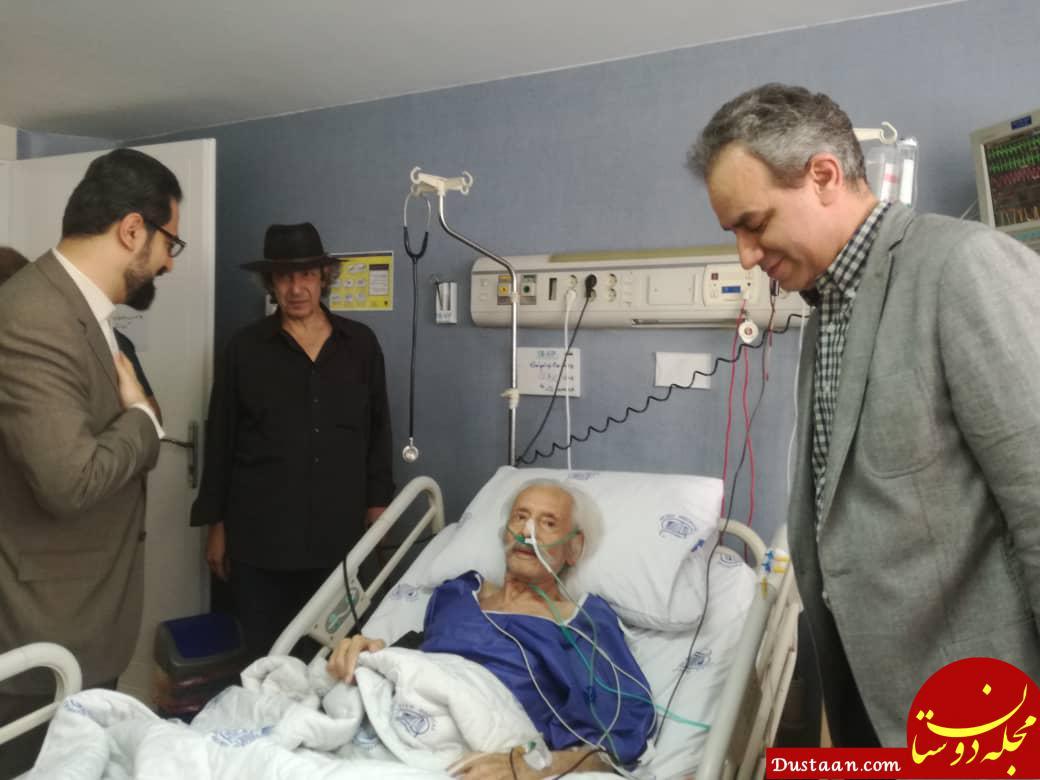 www.dustaan.com وضعیت سلامتی جمشید مشایخی پس از انجام عمل جراحی