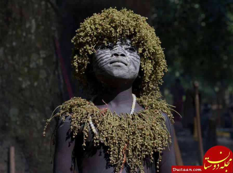 www.dustaan.com عکس های کمیاب و دیدنی از قبیله گم شده در اقیانوس هند