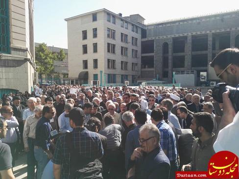 www.dustaan.com تصاویر: مراسم تشییع پیکر محمد بسته نگار