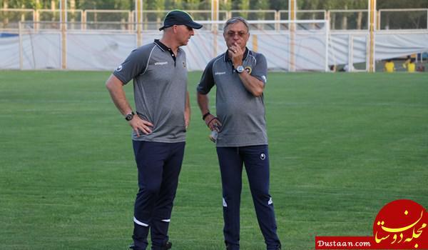www.dustaan.com عصبانیت «کرانچار» از آشفتگی تیم امید