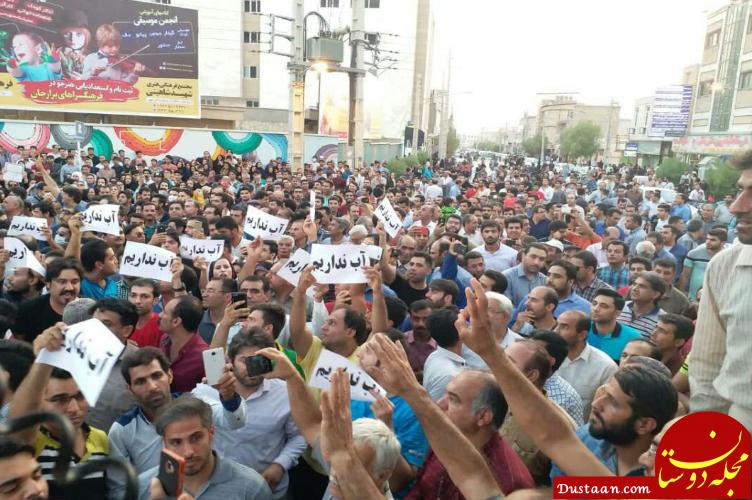 www.dustaan.com باز هم درگیری در کازرون؛ این بار بر سر آب +عکس
