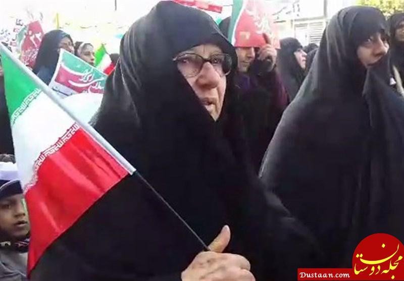www.dustaan.com حرفهای خواهر مسیح علی نژاد: حتی اگر جگرگوشه مان در برابر انقلاب بایستد روبرویش می ایستیم