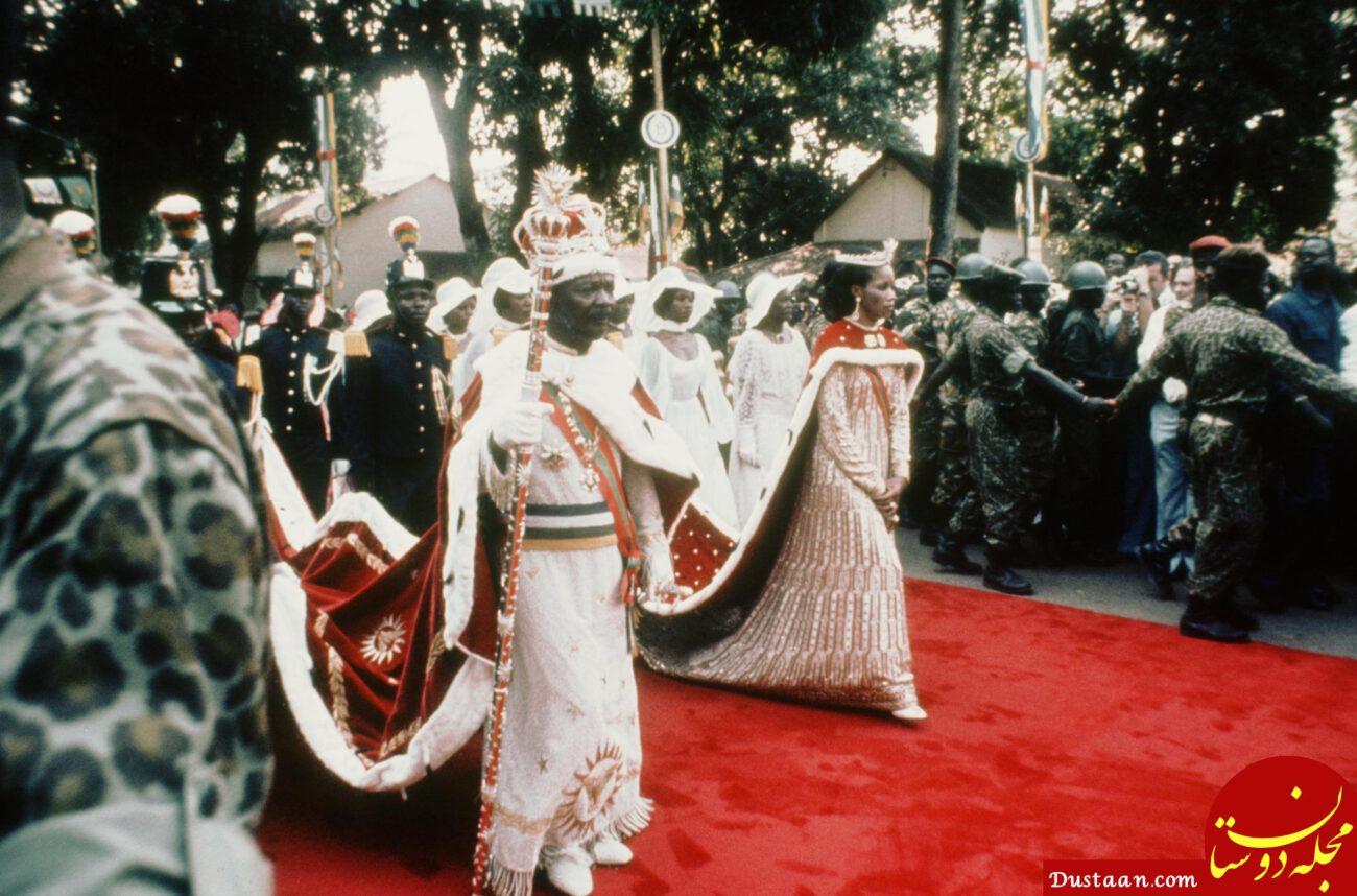 www.dustaan.com امپراتور آدمخوار آفریقای مرکزی!