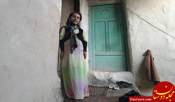 www.dustaan.com دختر جوانی که برای یک لقمه نان حلال لباس مردانه می پوشد! +تصاویر