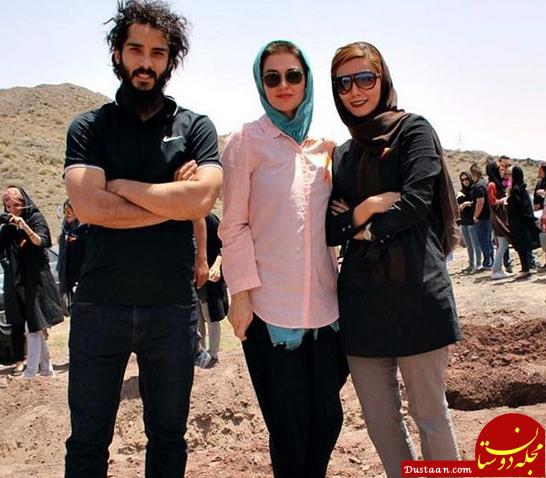 www.dustaan.com «بازیگر ایرانی» در کنار همسر فرانسوی اش +عکس