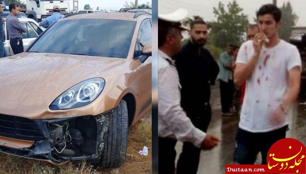 www.dustaan.com سردار خواستار خسارت ماشین میلیونی اش شد!