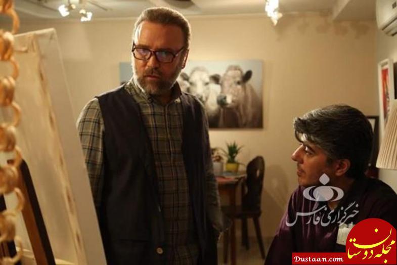 www.dustaan.com عکس های جدید از سریال «ستایش 3»