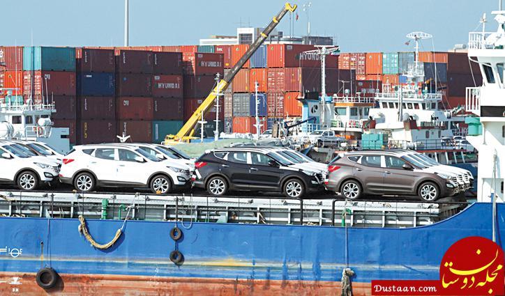 www.dustaan.com کاهش قیمت برخی خودروهای وارداتی با عرضه محصولات انبارشده
